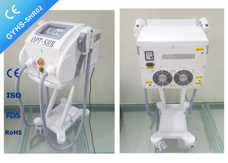 Double Handpiece IPL SHR Hair Removal Machine ,  Fast Light Shots IPL Treatment Machine